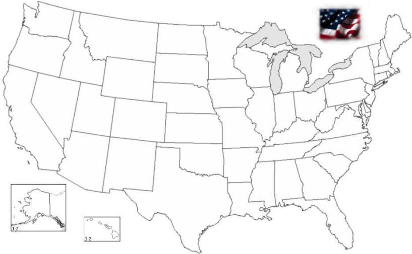 United States Capitals Quiz Printable